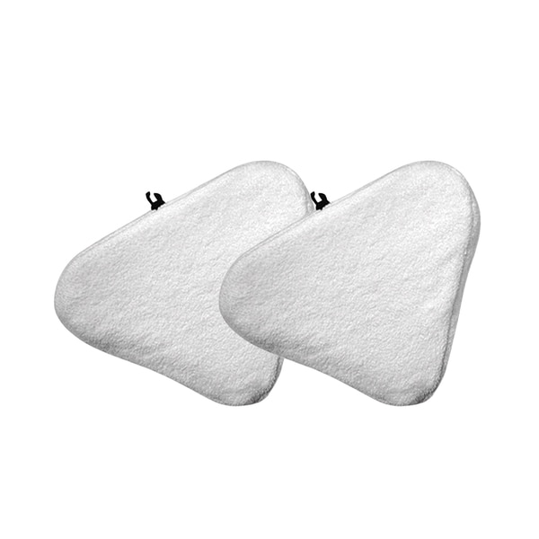 H20-compatible Microfiber Steam Mop Pads (Set of 2)