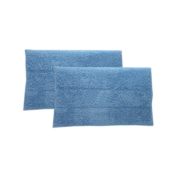 Crucial Vacuum Blue Steam Mop Pads (Set of 2)