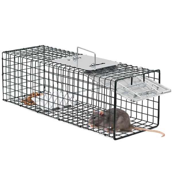 "Humane Pest and Rodent Control Live Animal Trap - 24"" x 7"" x 7"""