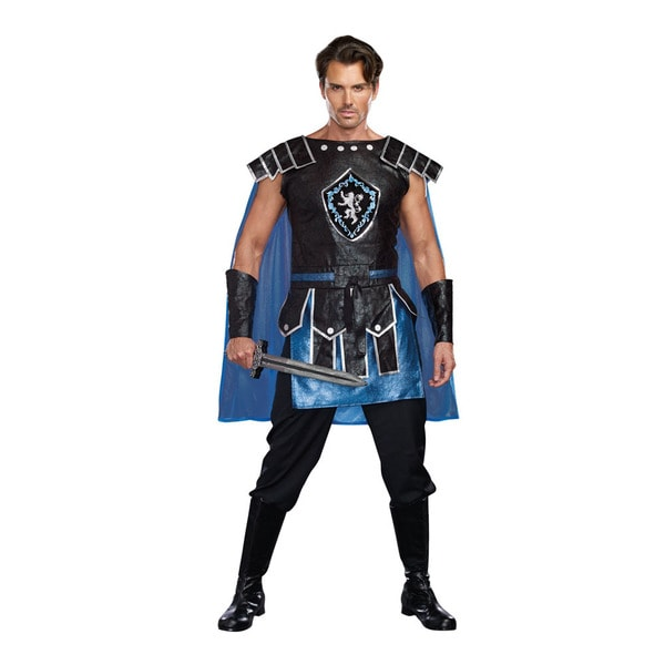 DREAM GIRL 9825 Men's King Slayer Male 2-piece Warrior Halloween Costume Set