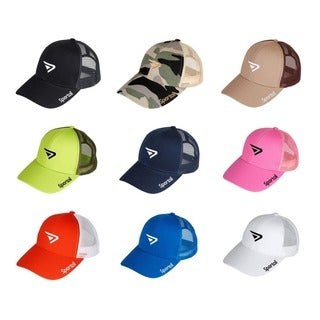 Kids Cotton Blend Mesh Back Adjustable Cap