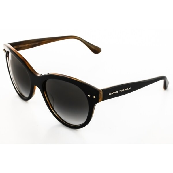 David Yurman Women's Floating Logo Dy099 Black Sunglasses