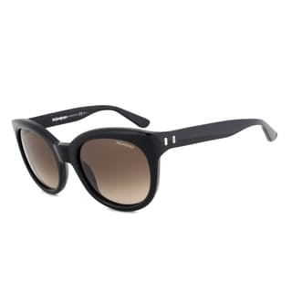 Yves Saint Laurent YSL 6379/S 807HA Cateye Sunglasses with a Black Frame and Brown Gradient Lens