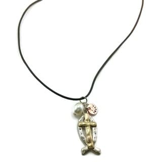 Mama Designs Handmade Western Style Cross Necklace