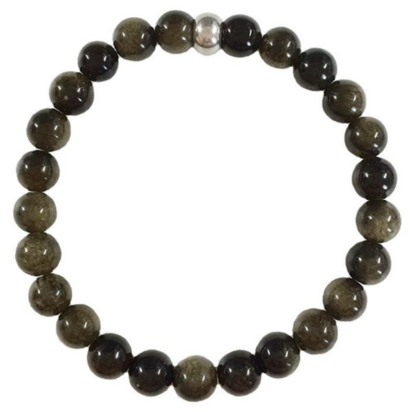 Black Golden Obsidian Bracelet