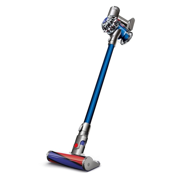 Dyson V6 Fluffy Cordless Vacuum Cleaner + Attachment Tools for Hard Floors