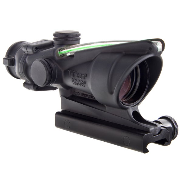 Trijicon ACOG 4x32 BAC Dual Illuminated Green Chevron 300 Blackout