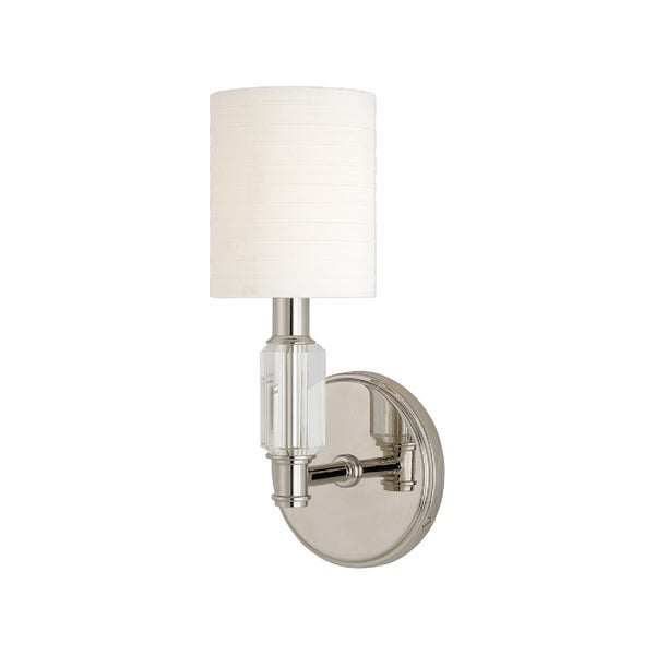 Hudson Valley Glacier Polished Nickel Wall Sconce