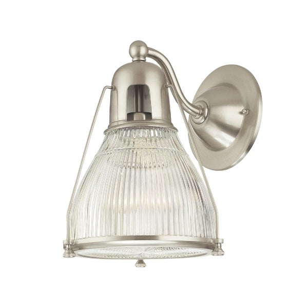Hudson Valley Haverhill Satin Nickel Wall Sconce 16187649