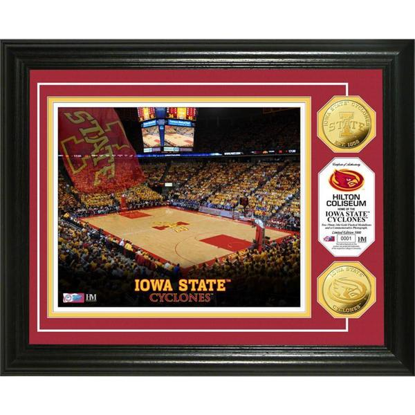 "Iowa State University ""Basketball"" Gold Coin Photo Mint 16187710"