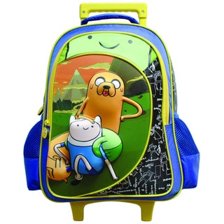Adventure Time Trio 3D Rolling Backpack