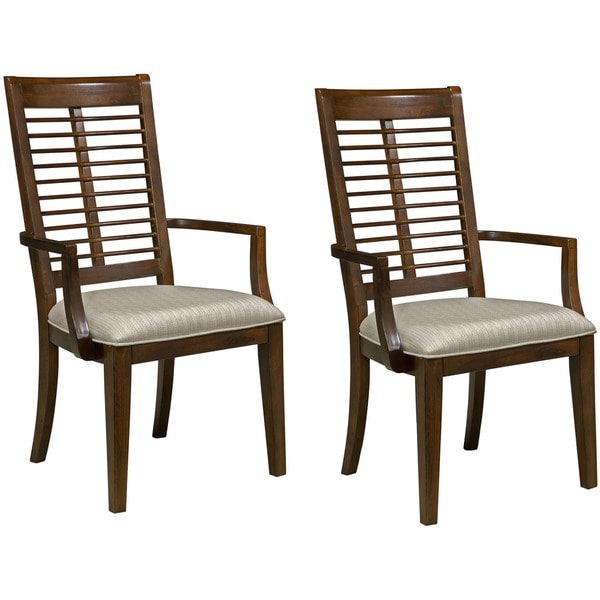 Panama Jack Eco Jack Slat Arm Chair (Set of 2)