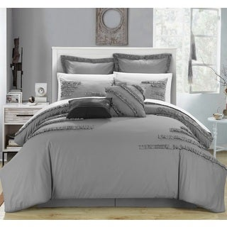 Chic Home Scotsdale Cotton 12-piece Bed in a Bag with Sheet Set