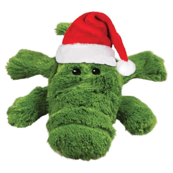 Kong Holiday Cozie Alligator Toy