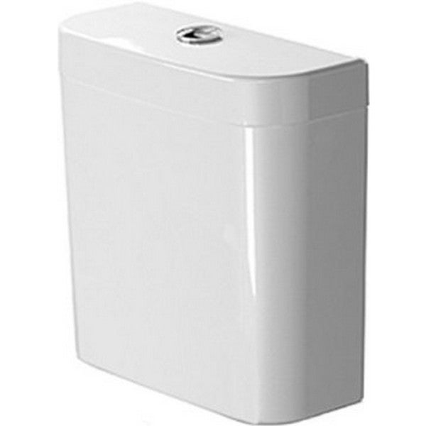 Duravit White Duravit Cistern with Single Flush