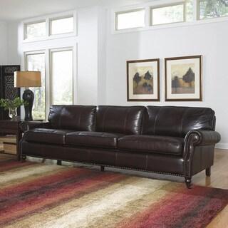 Lazzaro Leather Stockton Four Seat Sofa