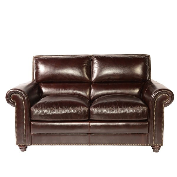 Lazzaro Leather Stockholm Loveseat