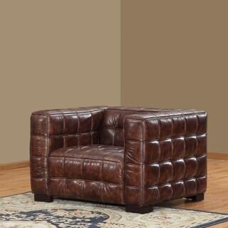 Lazzaro Leather Coco Brampton Nautical Chair