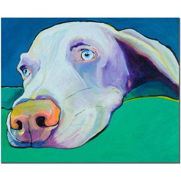 Pat Saunders-White 'Fritz' 14x19 Canvas Wall Art