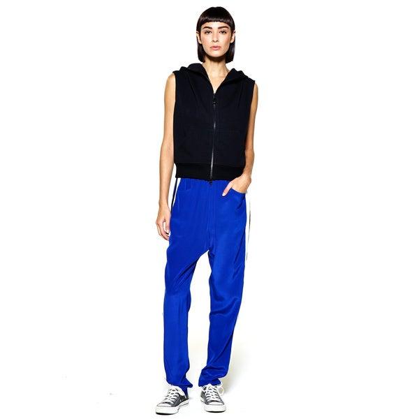 4th Avenue Track Trouser in Silk