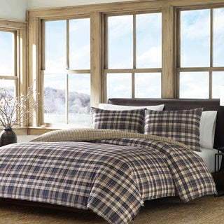 Eddie Bauer Port Gamble Cotton Duvet Cover Set