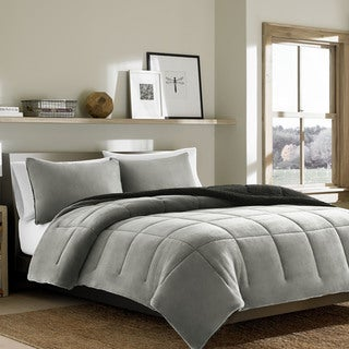 Eddie Bauer Premium Fleece Chrome Comforter Set