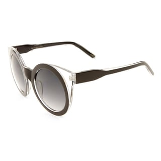 EPIC Eyewear Horn Rimmed Super Bold Round Fashion Sunglasses