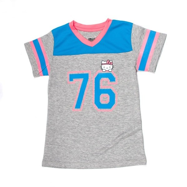 Hello Kitty V-Neck Football Tee