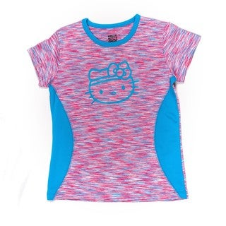 Hello Kitty Trainer Tee with Contrast insets