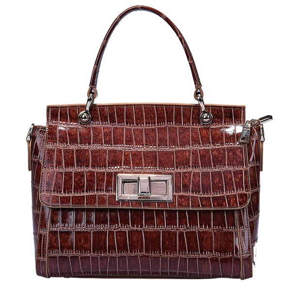 Ruby Leather Handbag