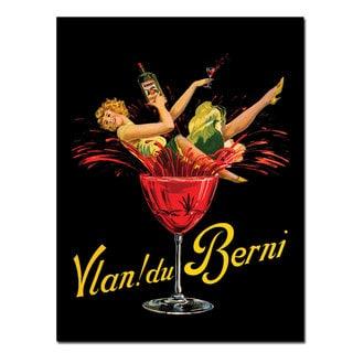 Vintage Art 'Vlan du Berni' Canvas Wall Art