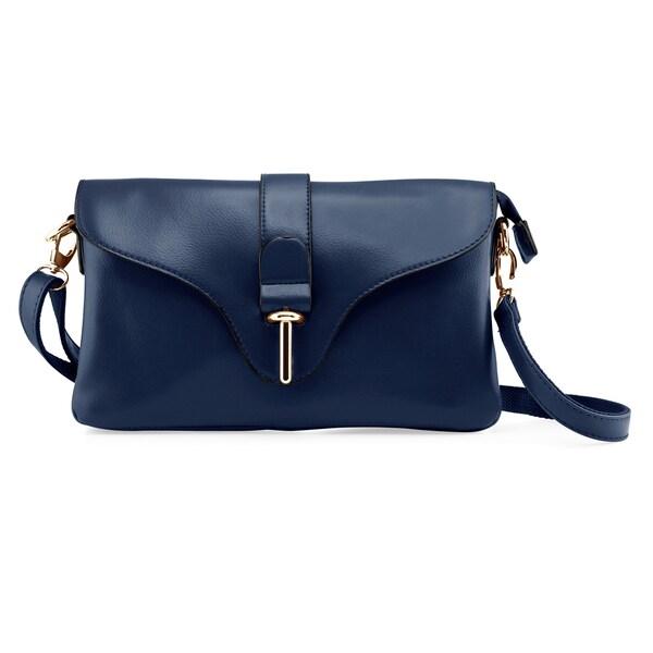 Gearonic Fashion Women Shoulder Handbag PU Leather Crossbody Bag