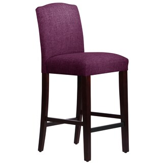 Skyline Furniture Arched Barstool in Klein Fig