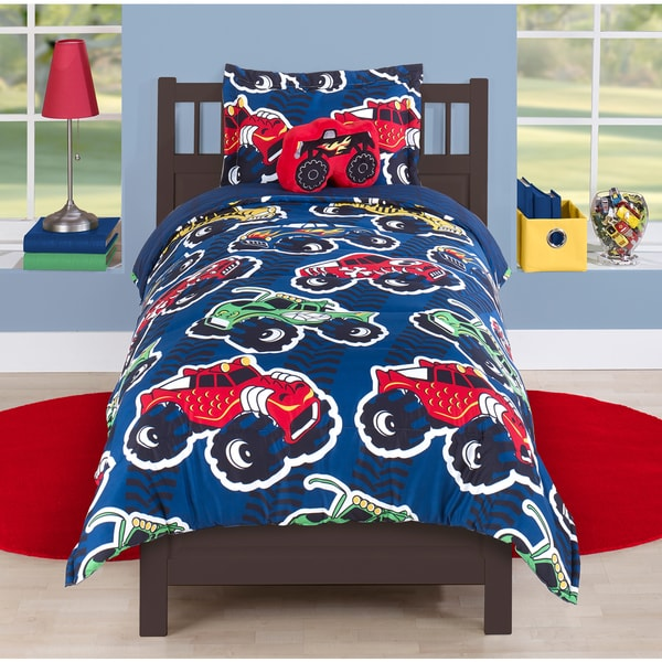 Monster Trucks Comforter Set