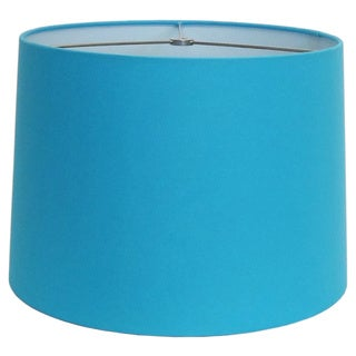 Turquoise Round Hardback Shade
