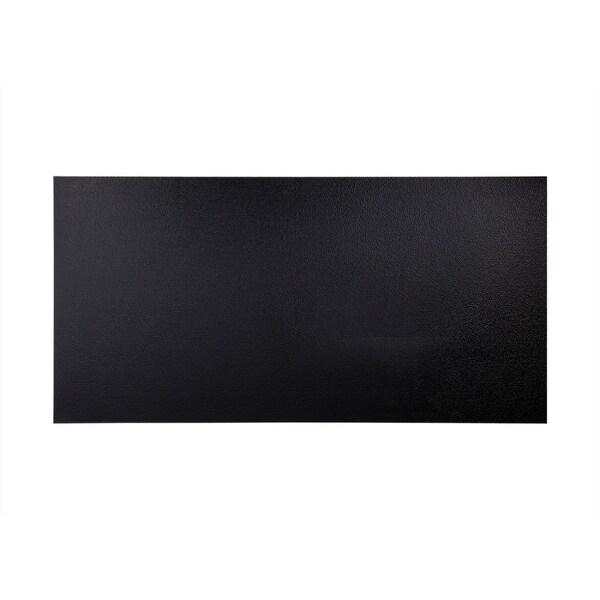 Fasade Hammered Black Wall Panel (4' x 8')