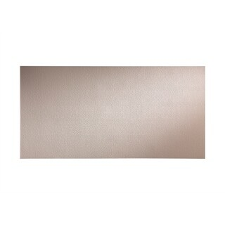 Fasade Hammered Almond Wall Panel (4' x 8')