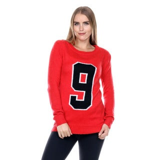 Stanzino Women's Long Sleeve '9' Knit Sweater