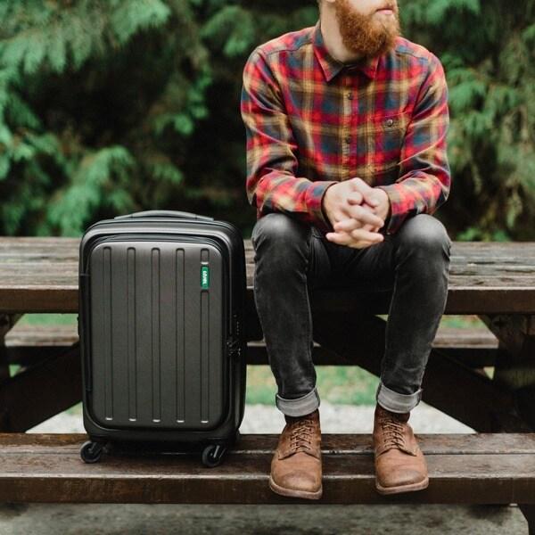 Lojel Hatch 22-inch Hardside Carry-On Spinner Upright Suitcase