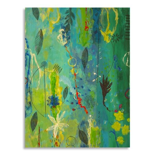 AA Phoenix 'Sea Flowers I' Birchwood
