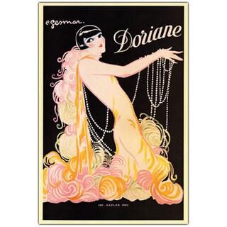 Vintage Art 'Doriane' 24x32 Canvas Wall Art