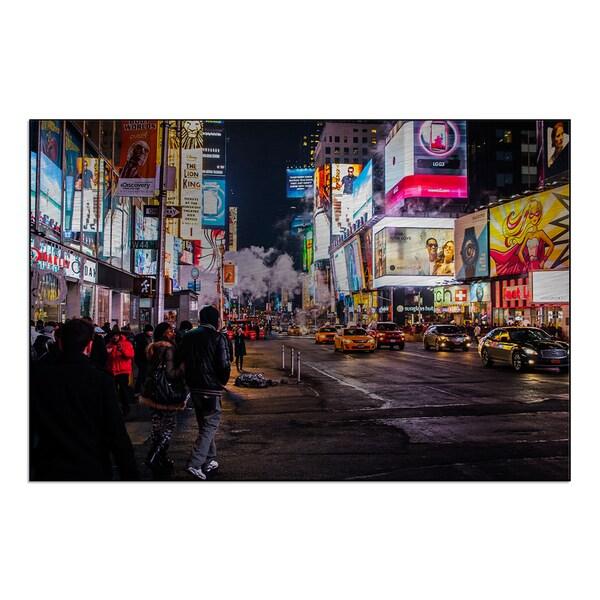 New Era Photography 'Neon Nightlife' Mounted Metal