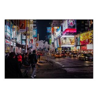 Gallery Direct New Era Photography 'Neon Nightlife' Mounted Metal