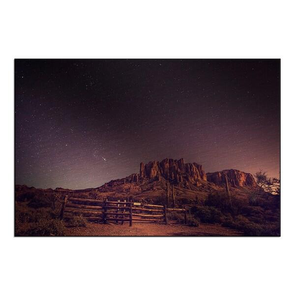 New Era Photography 'Desert Sky' Mounted Metal
