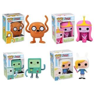 Funko Adventure Time Pop TV Vinyl Collectors Set with Jake/ Princess Bubblegum/ BMO/ Fionna