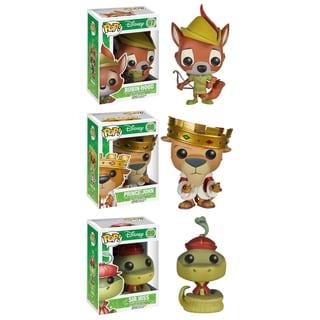 Funko Robin Hood Pop Disney Vinyl Collectors Set with Robin Hood/ Prince John/ Sir Hiss