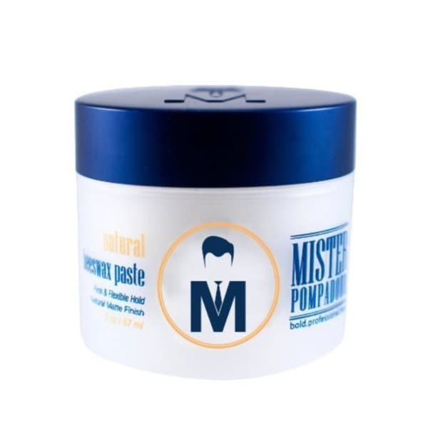 Mr. Pompadour Natural 2-ounce Beeswax Paste