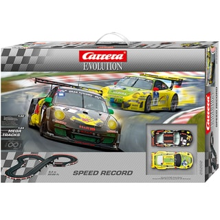 Carrera Speed Record Evolution 1:32 Scale Slot Car Race Set