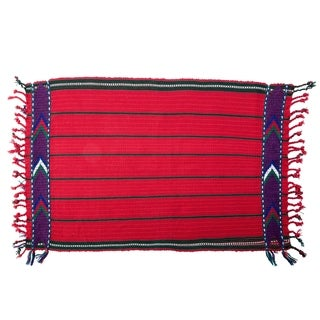 Handwoven Set of 4 Cotton Placemats (Guatemala)