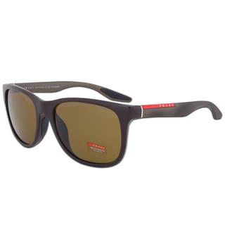 Prada Sport SPS 03O NAS-5Y1 Polarized Sunglasses in Brown